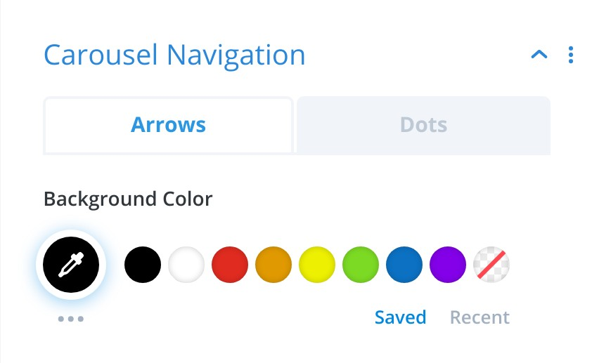 Carousel Navigation Styling - Divi Product Carousel