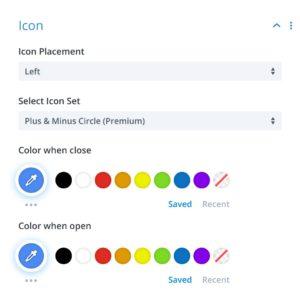 Icon - Divi Module