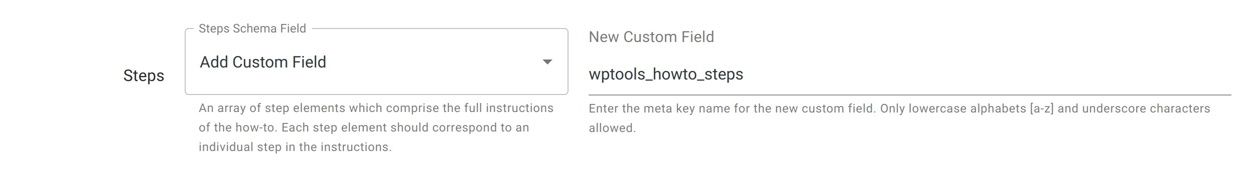 Steps Field - HowTo Schema - WordPress Schema Plugin