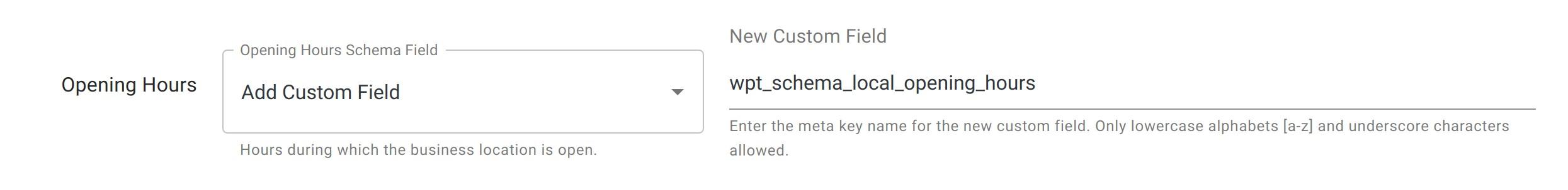 Opening Hours - Local Business Schema - WordPress Schema Plugin